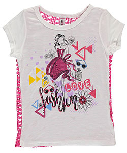 "Pink Velvet Little Girls' Toddler ""Fashion Love"" T-Shirt (Sizes 2T – 4T) - CookiesKids.com"