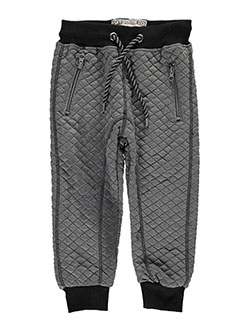 "Faze 1 Little Boys' Toddler ""Quilted Twist"" Joggers (Sizes 2T – 4T) - CookiesKids.com"