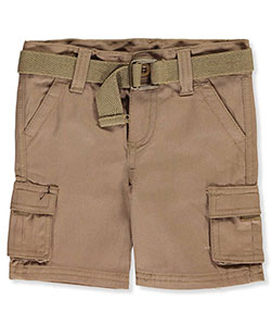 "LR Scoop Baby Boys' ""Lorenzo"" Belted Cargo Shorts - CookiesKids.com"
