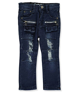 "LR Scoop Baby Boys' ""Split Tab"" Jeans - CookiesKids.com"