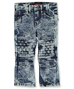 "LR Scoop Baby Boys' ""Sunrise Patched"" Jeans - CookiesKids.com"