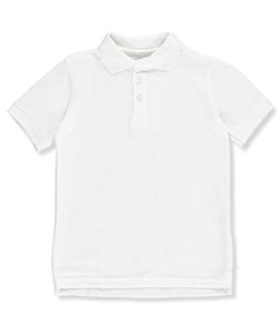 Classic School Uniform Little Boys' Toddler S/S Pique Polo Shirt (Sizes 2T – 4T) - CookiesKids.com