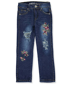 Pink Velvet Little Girls' Jeans (Sizes 4 – 6X) - CookiesKids.com