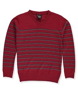 Faze 1 Big Boys' V-Neck Sweater (Sizes 8 – 20) - CookiesKids.com