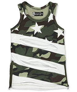 LR Scoop Baby Boys' Tank Top - CookiesKids.com