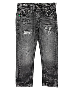 "LRG Little Boys' ""Rip Stitch"" Slim Fit Jeans (Sizes 4 – 7) - CookiesKids.com"