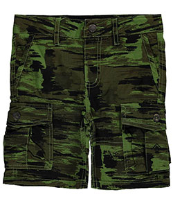 "LRG Little Boys' ""Streak Camo"" Cargo Shorts (Sizes 4 – 7) - CookiesKids.com"