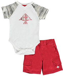 "LRG Baby Boys' ""Painted Tree"" 2-Piece Outfit - CookiesKids.com"
