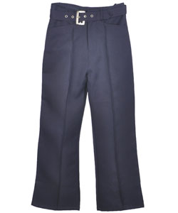 Genuine Big Girls' Flared Pants with Belt (Sizes 7 - 16) - CookiesKids.com