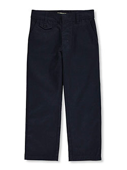 Genuine Little Girls' Straight Leg Flat Front Pants (Sizes 4 - 6X) - CookiesKids.com