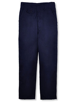 Genuine Big Girls' Straight Leg Flat Front Pants (Sizes 7 - 16) - CookiesKids.com