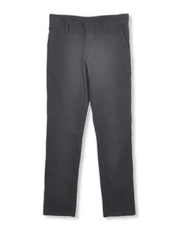 U.S. Polo Assn. Big Girls' Flat Front Stretch Pants (Sizes 7 - 16) - CookiesKids.com