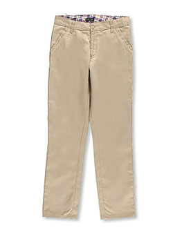 U.S. Polo Assn. Big Girls' Skinny Uniform Pants (Sizes 7 - 16) - CookiesKids.com