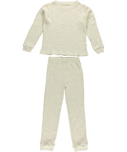 Ice2O Big Boys' Unisex 2-Piece Thermal Long Underwear Set (Sizes 8 - 20) - CookiesKids.com
