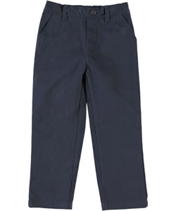 U.S. Polo Assn. Little Boys' Toddler Flat Front Pull-On Pants (Sizes 2T - 4T) - CookiesKids.com