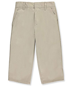 Genuine Little Boys' Toddler Pull-On Flat Front Twill Pants (Sizes 2T - 4T) - CookiesKids.com