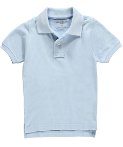 Eddie Bauer Little Boys' Toddler S/S Pique Polo (Sizes 2T - 4T) - CookiesKids.com