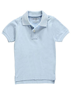 Eddie Bauer Little Boys' S/S Pique Polo (Sizes 4 - 7) - CookiesKids.com