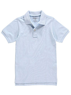 Eddie Bauer Big Boys' S/S Pique Polo (Sizes 8 - 20) - CookiesKids.com