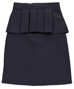"U.S. Polo Assn. Big Girls' Junior ""Pleat Trim"" Pencil Skirt (Sizes 7 - 18) - CookiesKids.com"