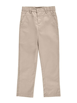 "U.S. Polo Assn. Little Boys' ""Flap Pocket"" Flat Front Pants (Sizes 4 – 7) - CookiesKids.com"