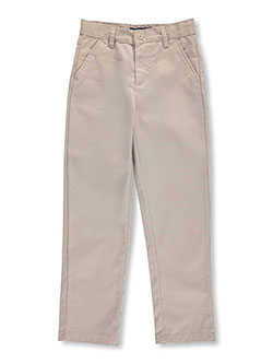 "U.S. Polo Assn. Big Boys' ""Flap Pocket"" Flat Front Pants (Sizes 8 – 20) - CookiesKids.com"