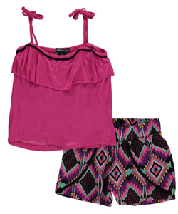 "Limited Too Little Girls' ""Reena"" 2-Piece Outfit (Sizes 4 – 6X) - CookiesKids.com"
