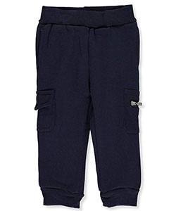 U.S. Polo Assn. Baby Boys' Cargo Fleece Joggers - CookiesKids.com