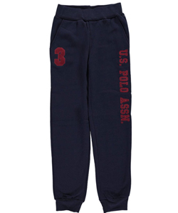 "U.S. Polo Assn. Big Boys' ""Track Day"" Joggers (Sizes 8 – 20) - CookiesKids.com"