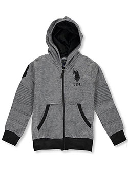 "U.S. Polo Assn. Little Boys' ""Large Scale"" Hoodie (Sizes 4 – 7) - CookiesKids.com"