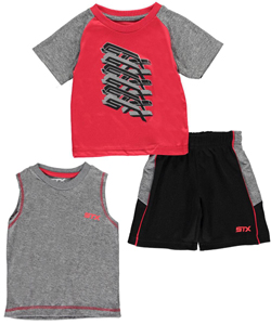 "STX Baby Boys' ""Sports Look"" 3-Piece Outfit - CookiesKids.com"