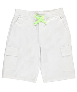 "American Hawk Little Boys' ""Contrast Drawstring"" Cargo Shorts (Sizes 4 – 7) - CookiesKids.com"