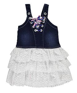 "Limited Too Baby Girls' ""Laced-Up Lace"" Dress - CookiesKids.com"
