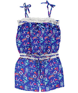 "Limited Too Big Girls' ""Crocheted Angles"" Romper (Sizes 7 – 16) - CookiesKids.com"