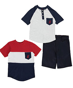 "American Hawk Baby Boys' ""Spotted Patriot"" 3-Piece Set - CookiesKids.com"
