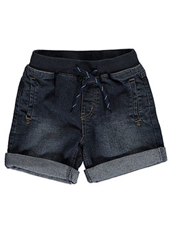 "U.S. Polo Assn. Little Boys' ""Faded Flex"" Denim Shorts (Sizes 4 – 7) - CookiesKids.com"