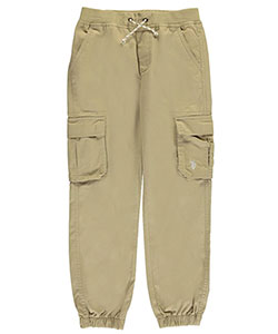 "U.S. Polo Assn. Big Boys' ""Soft Cargo"" Jogger Pants (Sizes 8 – 20) - CookiesKids.com"