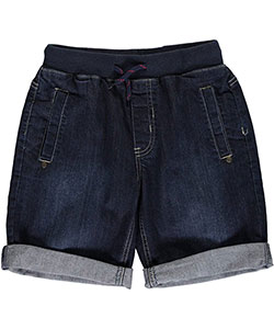 "U.S. Polo Assn. Big Boys' ""Faded Flex"" Denim Shorts (Sizes 8 – 20) - CookiesKids.com"
