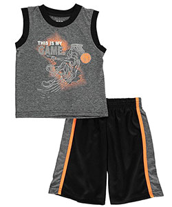 "360 Sports Little Boys' Toddler ""This Is My Game"" 2-Piece Performance Outfit (Sizes 2T – 4T) - CookiesKids.com"