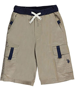 "U.S. Polo Assn. Big Boys' ""Tabbed"" Cargo Shorts (Sizes 8 – 20) - CookiesKids.com"