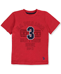"U.S. Polo Assn. Little Boys' Toddler ""Quality & Tradition"" T-Shirt (Sizes 2T – 4T) - CookiesKids.com"