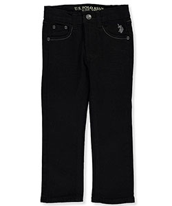 "U.S. Polo Assn. Little Boys' ""Classic Fade"" Straight Fit Jeans (Sizes 4 – 7) - CookiesKids.com"