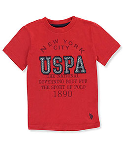 "U.S. Polo Assn. Little Boys' ""Governor"" T-Shirt (Sizes 4 – 7) - CookiesKids.com"