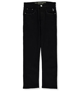 "U.S. Polo Assn. Big Boys' ""Classic Fade"" Straight Fit Jeans (Sizes 8 – 20) - CookiesKids.com"