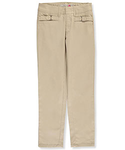 "Limited Too Big Girls' ""Double Strap"" Skinny Pants (Sizes 7 – 16) - CookiesKids.com"