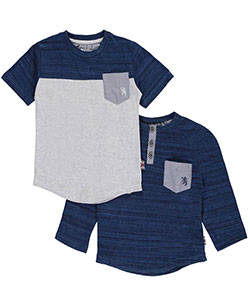 "English Laundry Big Boys' ""Static Yoke"" 2-Pack T-Shirts (Sizes 8 – 20) - CookiesKids.com"