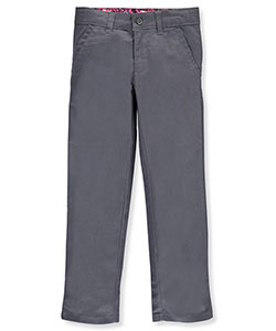 U.S. Polo Assn. Little Girls' Twill Skinny Pants (Sizes 4 – 6X) - CookiesKids.com