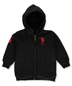 "U.S. Polo Assn. Little Boys' Toddler ""Blackhat"" Jacket (Sizes 2T – 4T) - CookiesKids.com"