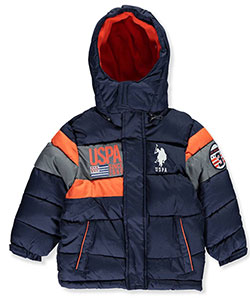 U.S. Polo Assn. Big Boys' Insulated Jacket (Sizes 8 – 20) - CookiesKids.com