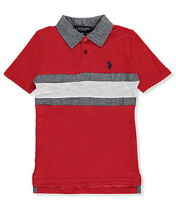U.S. Polo Assn. Little Boys' Polo Shirt (Sizes 4 – 7) - CookiesKids.com